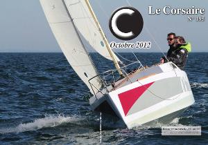Thag V. mené par Corentin Le Mouellic et Louise Houssin, élu plus beau Corsaire 2012