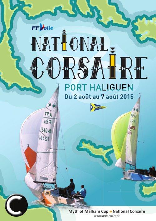 Affiche du National 2015 à Port Haliguen